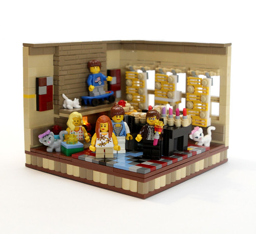 LEGO Chanukah vignette