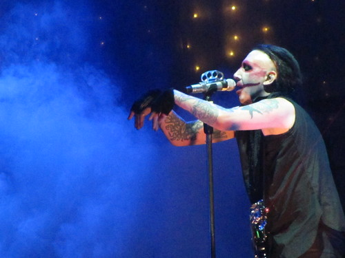 Marilyn Manson live at Unipol Arena, Bologna