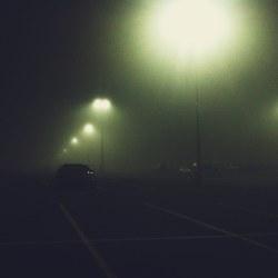 foggy-parking-lot