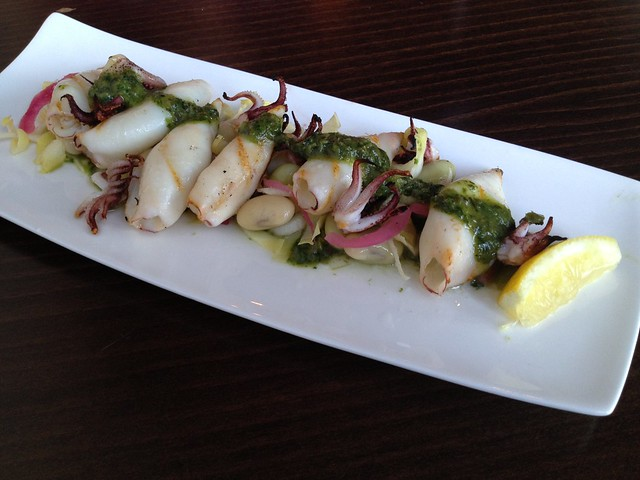 Grilled squid - Lot 7