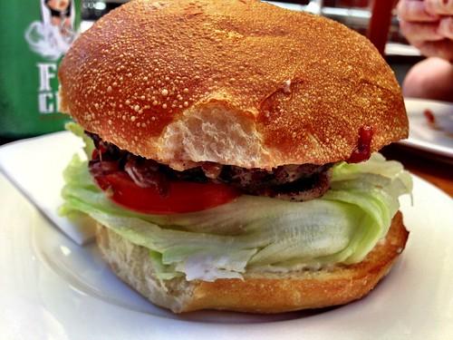 BBQ Bacon & Cheese Burger