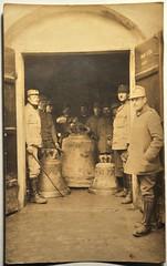 Rekvizice zvonů. 1917. Místo neznámé (avers)