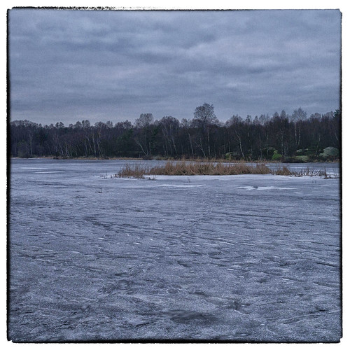 355/366 - Frozen lake by Flubie