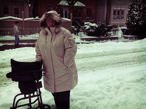 Walker in a Winter Wonderland by LexnGer
