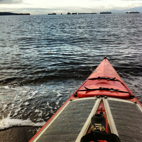 Kayaking - Enghttps://wanderlustmegan.com/2012/12/30/birthday-kayaking-english-bay-and-stanley-park/lish Bay