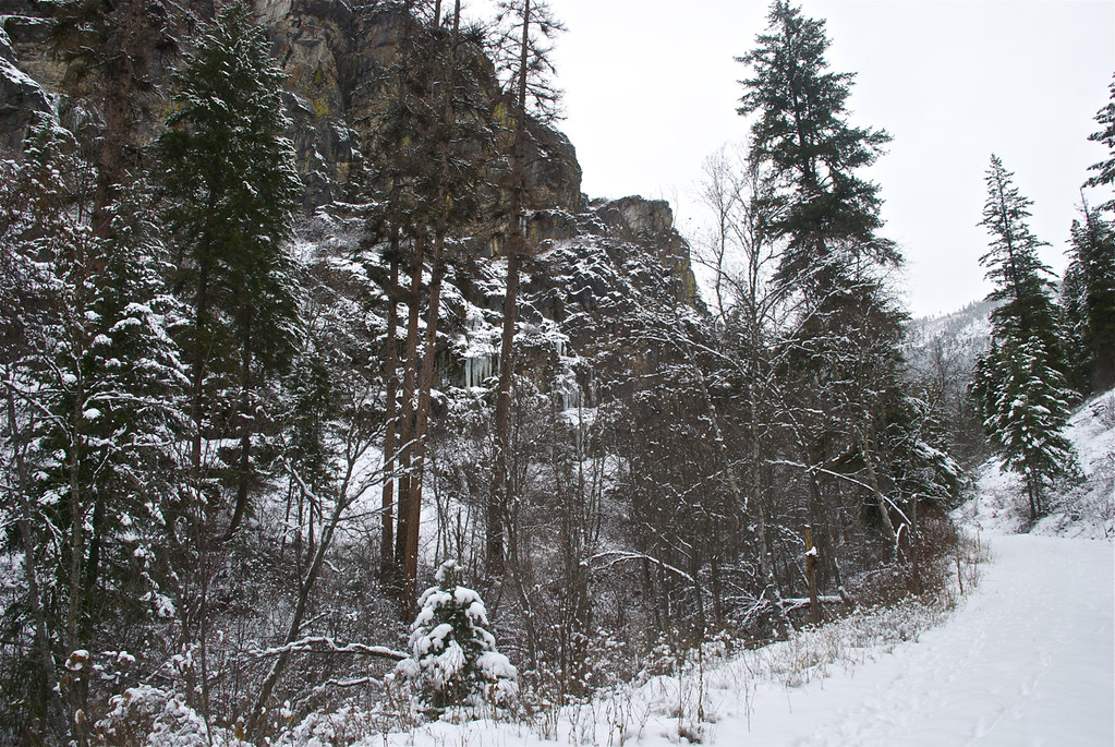 Buffalo Bill Creek cliffs