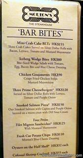 Happy Hour at Morton's HK-004
