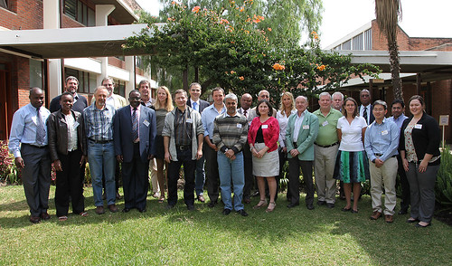 Contagious bovine pleuropneumonia in Africa workshop participants