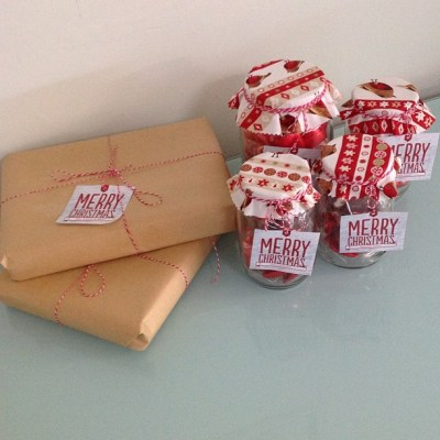 Teachers gifts made - check. Phew, another job off the list