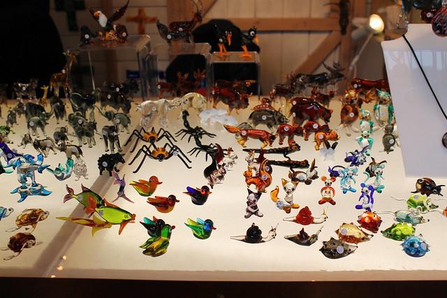 Glass figures