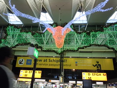 Decorations at Schiphol Airport