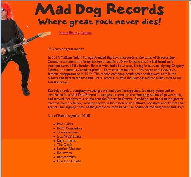 maddog-history
