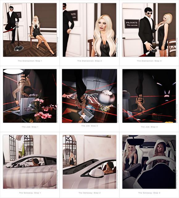 Spy Girls Collage - Sasy & Whimsy F