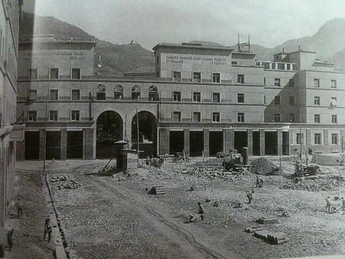 bolzano - costruzione piazza vittoria