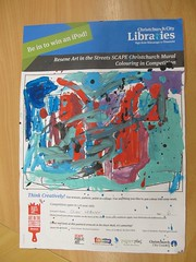 SCAPE Colouring Competition - highly commended