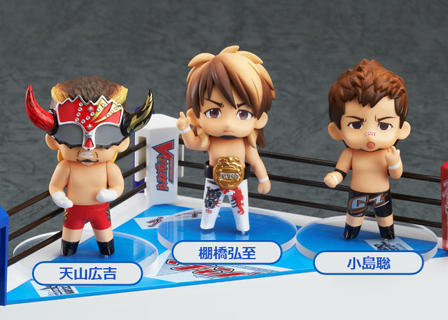 Nendoroid Petite: New Japan Pro-Wrestling Ring Set