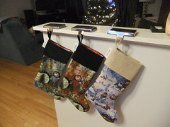 Make your own Christmas stocking from an existing one!