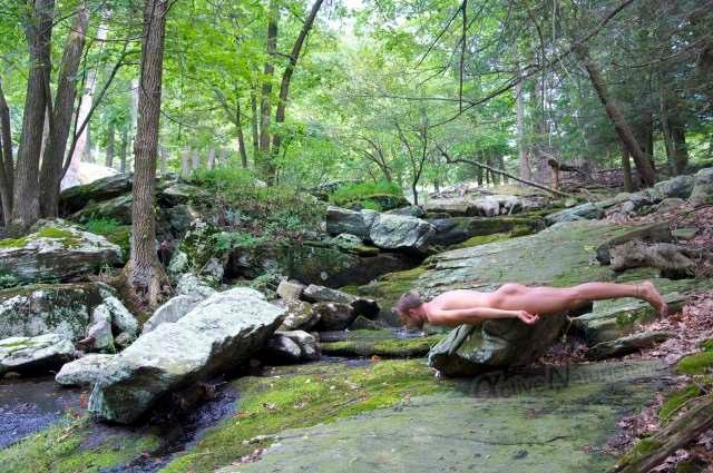 naturist 0004 Harriman Park, NY, USA
