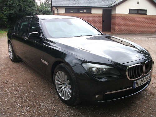 Armored 2012 BMW for rent in London by diplomatarmored