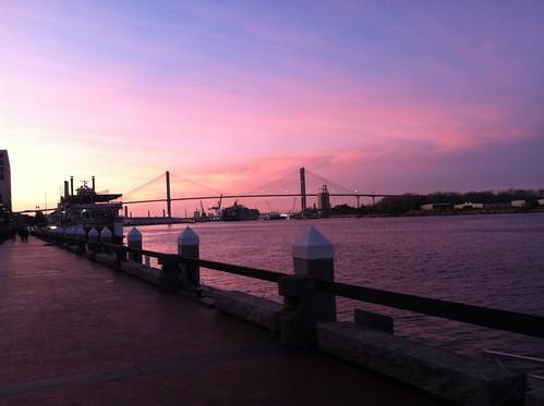 The bridge at dusk 2