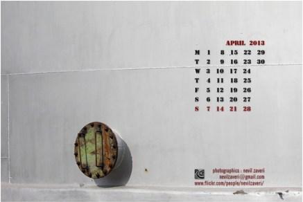 april 2013, wallpaper calendar