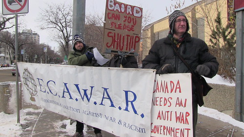 ECAWAR January Picket