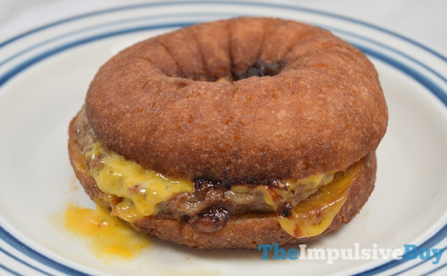 Great Value Late Night Cravings Donut Cheeseburger 2