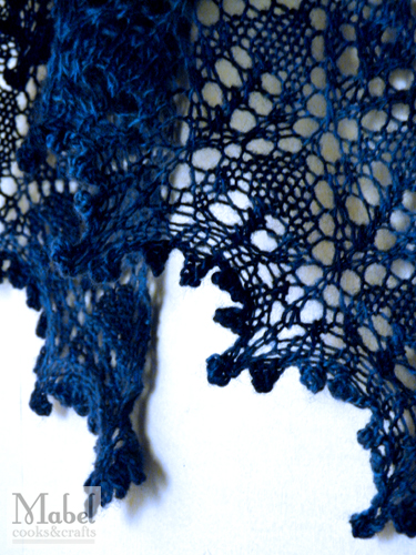 KNIT: Melange Shawl - Edging