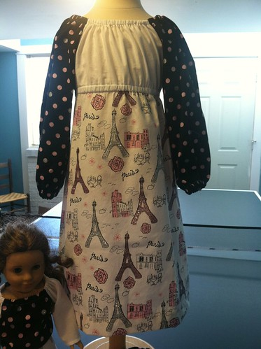 paris dress: big girl