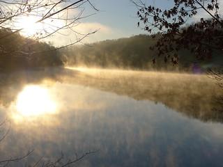 Lake Oolenoy Fog