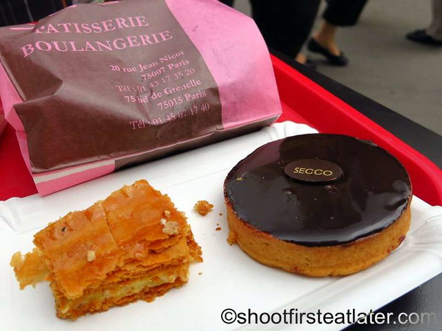 Secco Patisserie Boulangerie- tart chocolat €3.50
