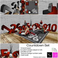 WWinx & Flair - Countdown Set  - My Attic @ The Deck