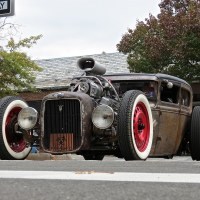 Scarsdale Concours d' Elegance: Ford Rat Rod