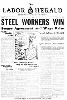 Eastern Rolling Mill Strike Won: 1936