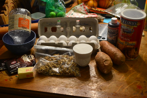Sweet Potato Torte Ingredients