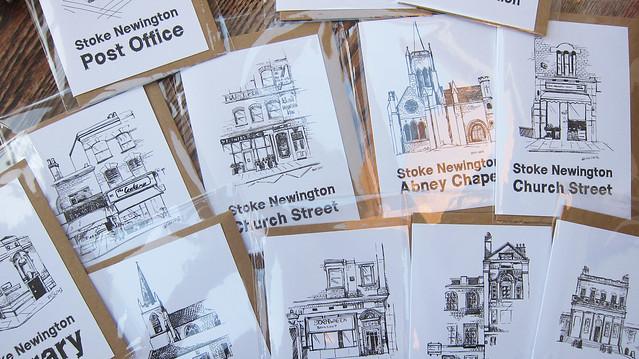 Set of 12 different Stokey landmarks