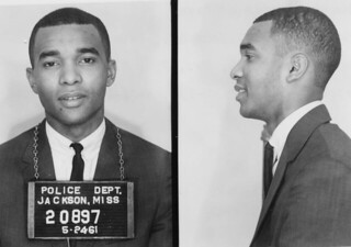 Dion Diamond Freedom Rider Mugshot: 1961
