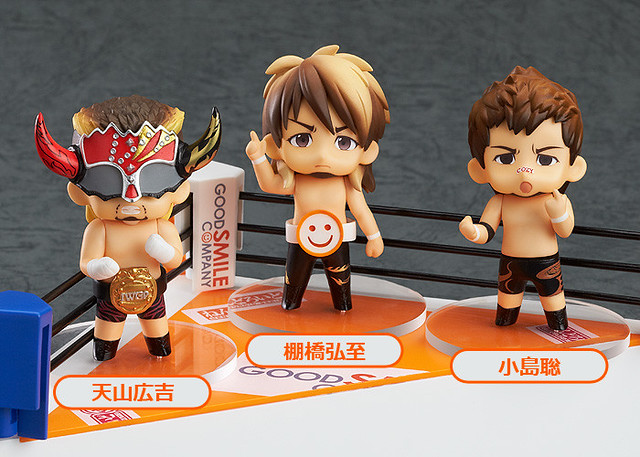 Nendoroid Petite: New Japan Pro-Wrestling Ring Set (Shinnichi Premium Store Limited version)