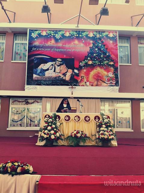 2012 Christmas, St. Joseph Church, Abu Dhabi (outdoor mass)