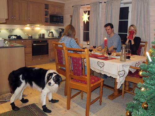 Middagen inntas