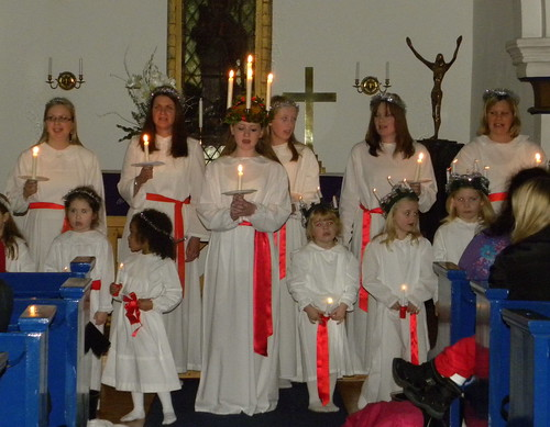 Lucia 2012 at Gustav Adolf