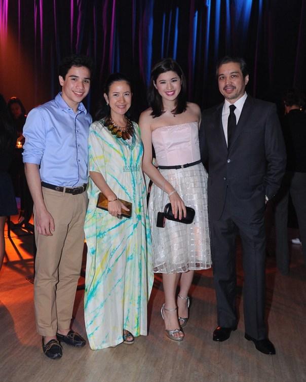 Ignacio Tambunting, Sam Nepomuceno, Mia Borromeo and Joey Puyat