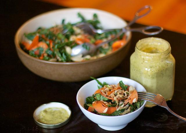 Kale, Carrot, & Fennel Salad (6)