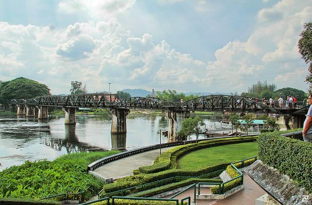 Bridge Over River Kwai, Kanchanaburi