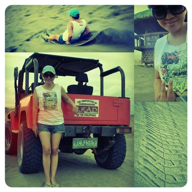 Ilocos Sand Boarding