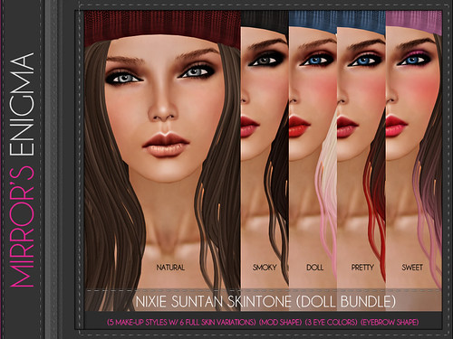 Nixie Suntan Skintone (Doll Bundle)