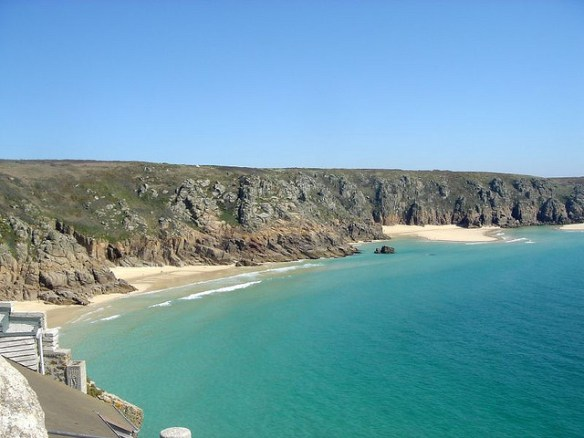 best UK beaches Cornwall