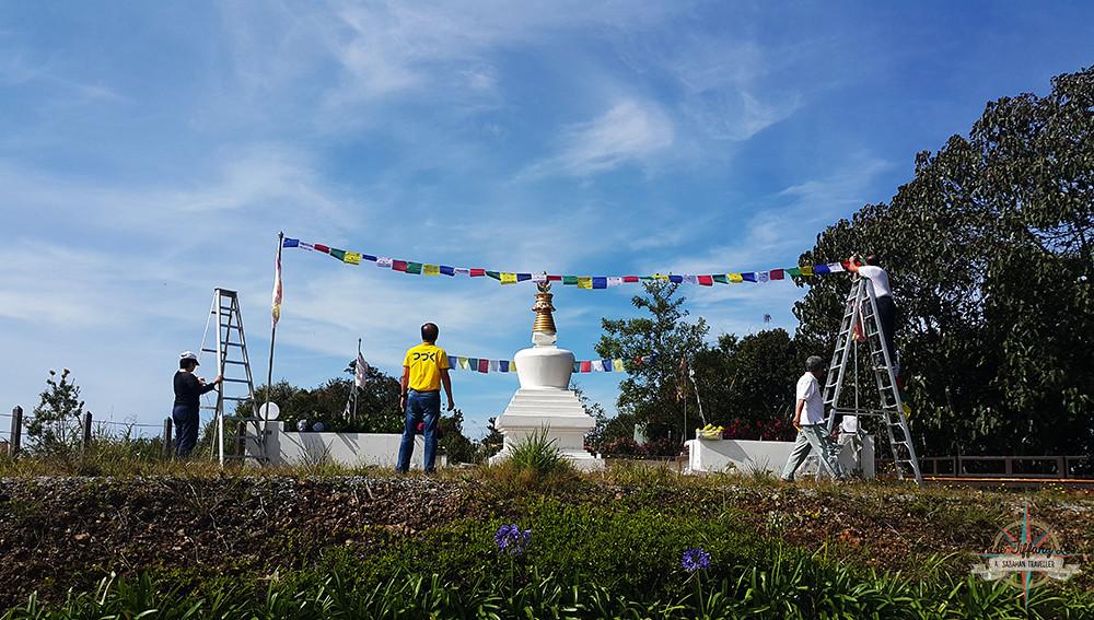 Retreat at Mitraville, Kundasang, Mesilau, Sabah, Malaysia, Buddhism, Spiritual, Aloka Stupa, Tibet, Chloe Tiffany Lee (4)