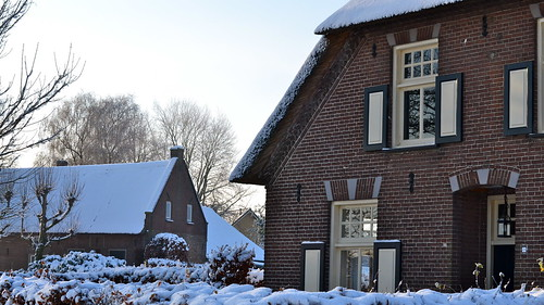 Winter in Huisseling  (Netherlands)