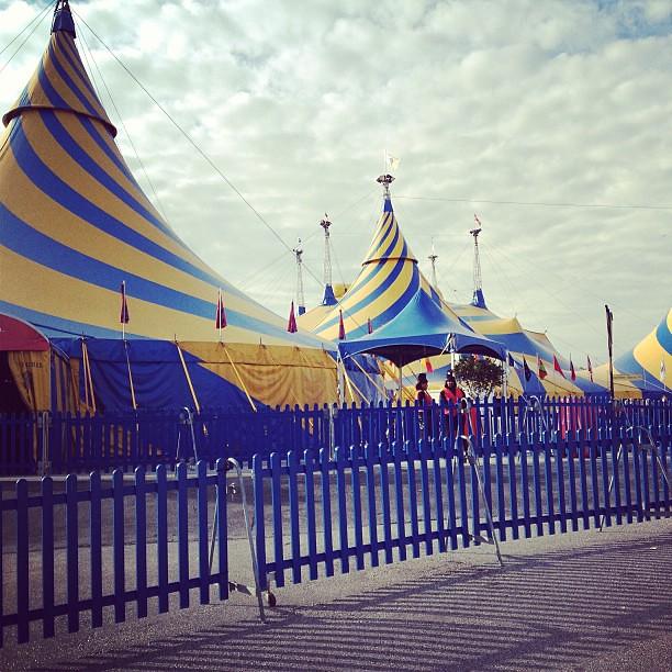 [350/366] Circus Tents